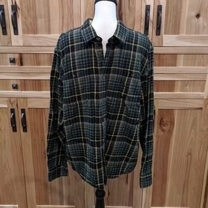 Roebuck & Co plaid flannel
